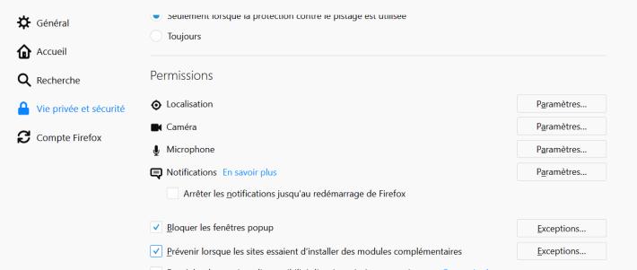 Gérer Les Fenêtres Popup Quelques Fonctionnalités De Firefox