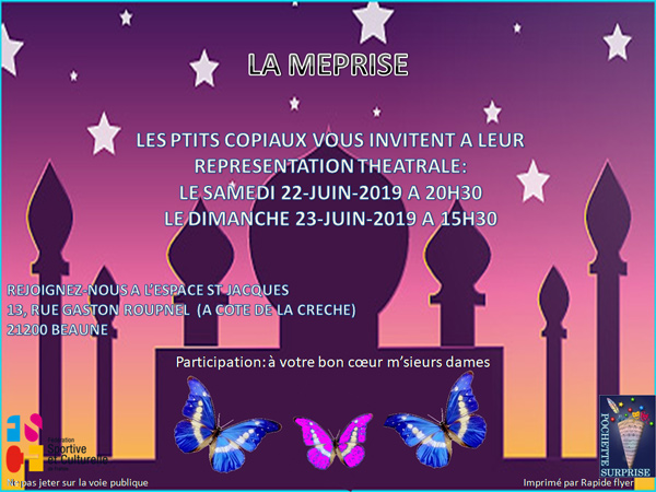Flyer La méprise